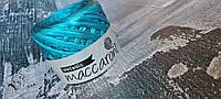 Трикотажная пряжа Maccaroni Metalliс Голубой