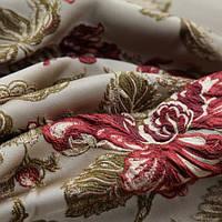 Мебельная ткань Жакард FLORENCE с подборкой