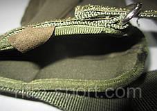 Рукавиці тактичні з закритими пальцями з посиленим протектором, фото 3