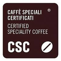 Логотип Caffe Speciali Certificati гарантирует качество кофе и контроль на всех стадиях производства