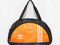 Сумка текстильная спорт NIKE черный оранж, фото 1