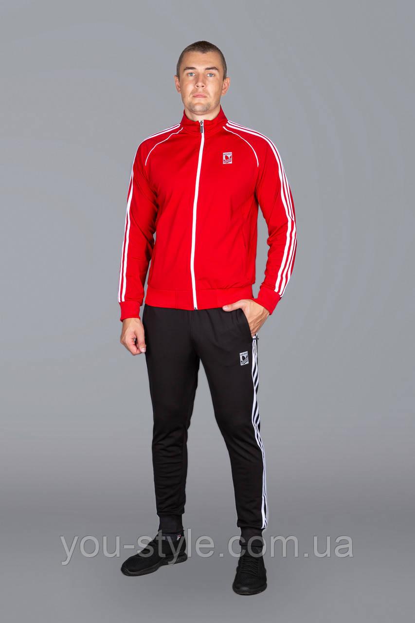 Мужской спортивный костюм Adidas 5716 Красный