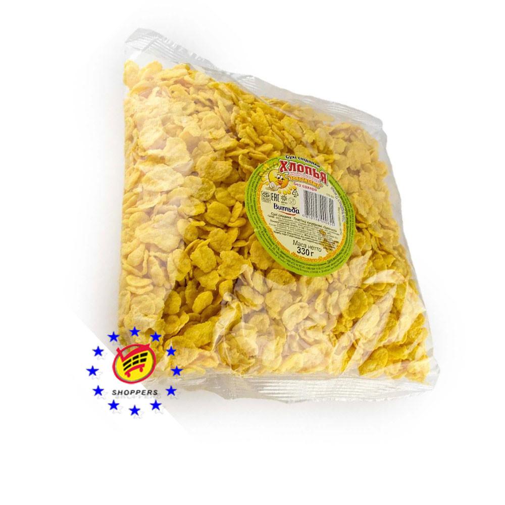 Хлопья кукурузные глазированные Витьба 250г