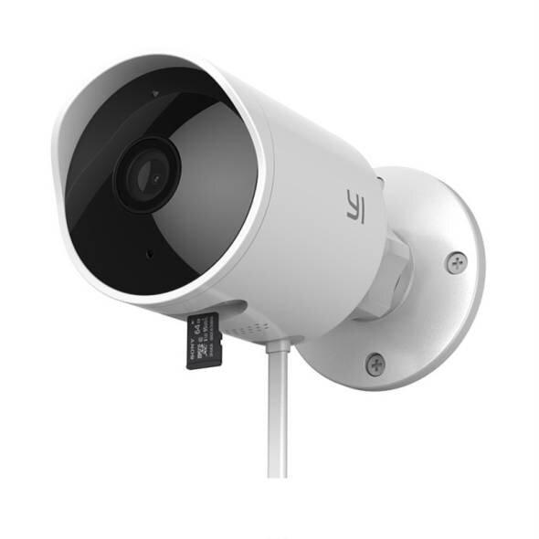 Наружная камера видеонаблюдения Xiaomi YI Outdoor camera - Global Version Model yhs.3017