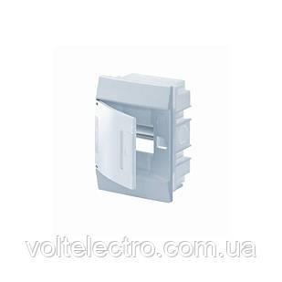 Распределительный щиток внутренний с белой дверцей 4 мод. ABB Mistral41