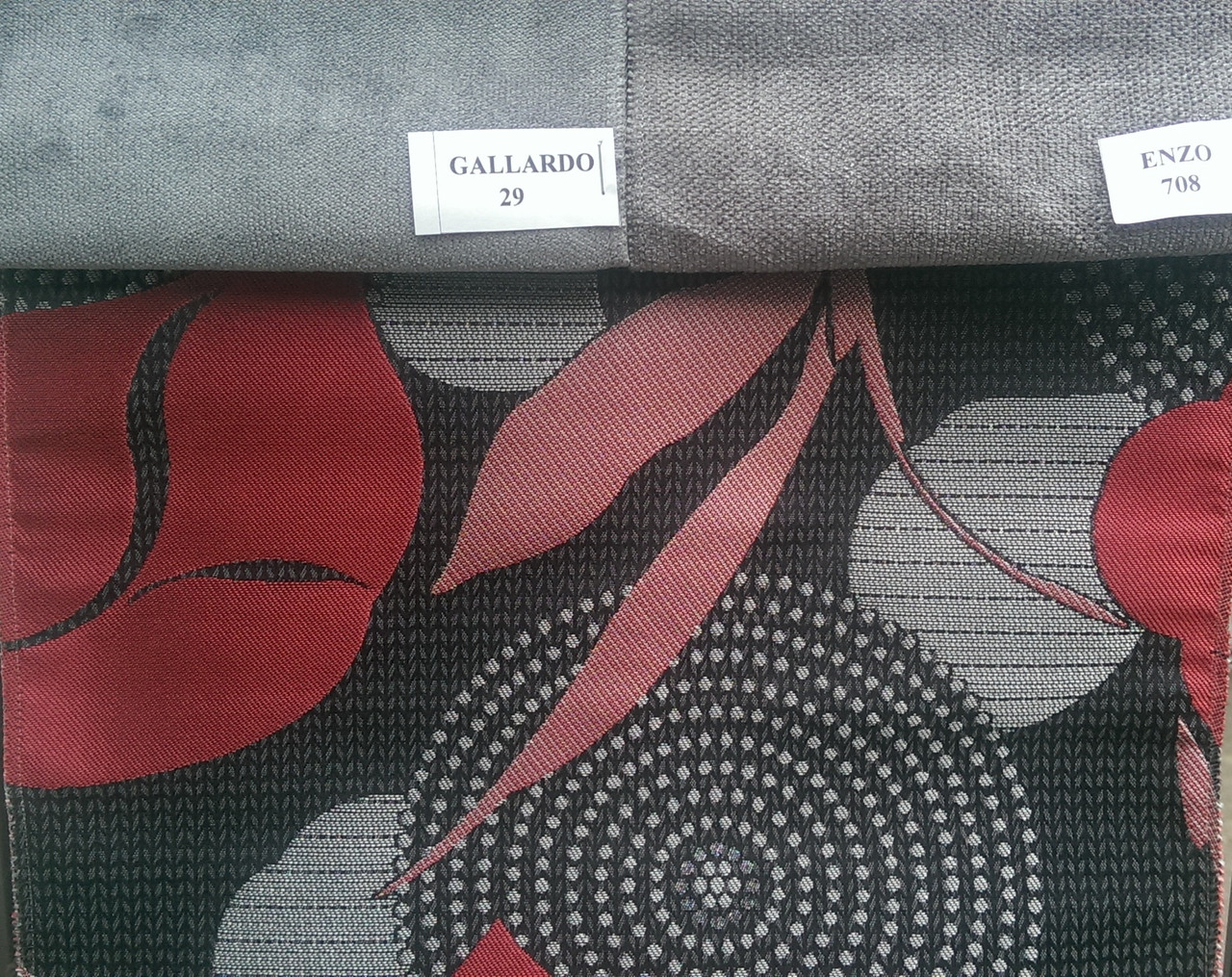 Мебельная ткань Жакард SORENTO с подборкой