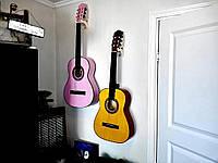 Настенное крепление для гитары, держатель для гитары подвесной