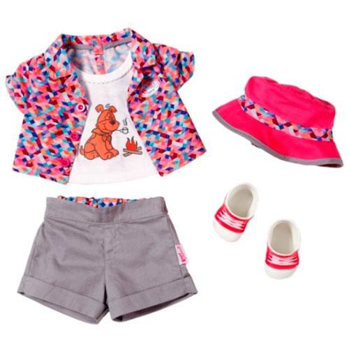 Одежда и обувь для куклы Кемпинг Zapf Creation 823767