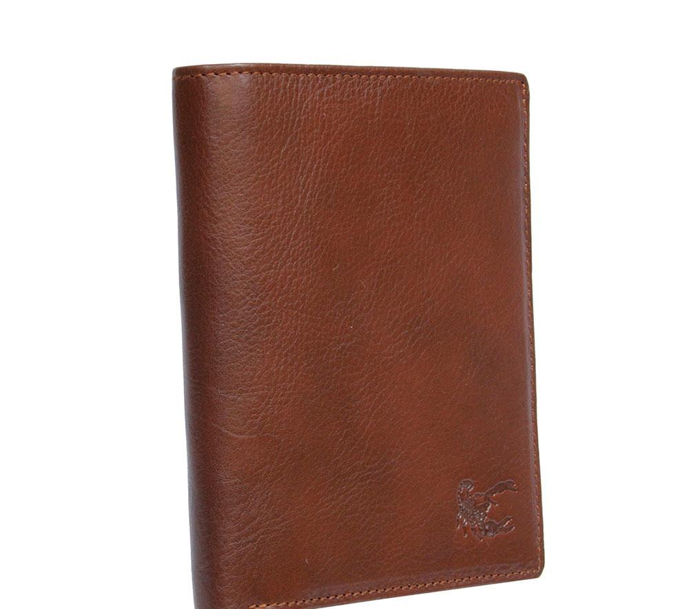 Портмоне кожаное Monterosso 4088 moro коричневый