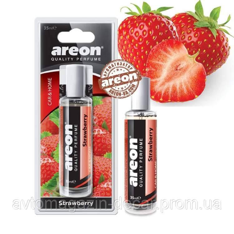 "Освеж.спрей 35ml - ""Areon"" - Perfume - Strawberry (Полуниця) +1аркуш (12шт/уп)"