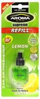 "Освеж.запаска  8ml - ""Aroma"" - Supreme Refill - Lemon (Лимон) (24шт/уп)"