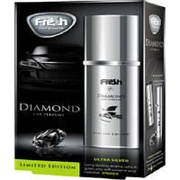 """Освеж.спрей 45ml - """"Fresh Way"""" - Diamond - Ultra Silver (Серебро)"""