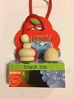 """Освеж.жидк.бочка с запаской 2x5ml - """"OSCAR"""" - Classica - Black Ice (Черный Лёд) (24шт/уп)"""