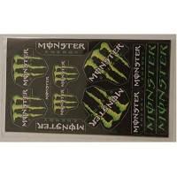 """Наклейка МОТО """"Monster"""" (19x11) малая"""