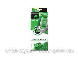 """Освеж.силикон. гранулы 40gr - """"Paloma"""" - Secret - GREEN APPLE (Зеленое Яблоко) Под Сиденье (34шт/уп)"""