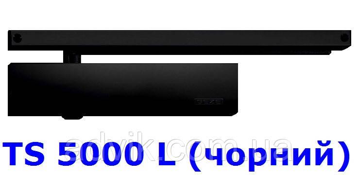 Доводчик Geze TS 5000 L з ковзною тягою (чорний)