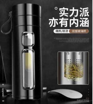 ✅ Заварник для чая  Термокружка Термос Колба из боросиликатного стекла Инфузер для Чая 400 мл.
