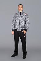 Мужской спортивный костюм Reebok Камуфляж 5713 Серый