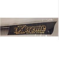 """Наклейка на кузов черно-золото """"Extrime"""" 100х4,5см (8шт.)"""