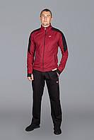 Мужской спортивный костюм Nike 5711 Бордовый