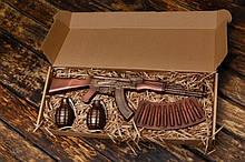 """Подарочный шоколадный набор """"Шоколад с мужским характером"""" АК-47"""