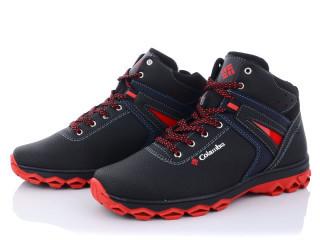 Ботинки мужские Lvovbaza-Kindzer Kindzer K10-3K черно-красный