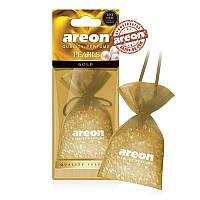 "Освеж.силикон. гранулы 25gr - ""Areon"" -  Pearls LUX - Gold (Золото) (12шт/уп)"