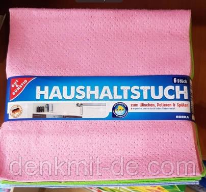 Салфетки универсальные для уборки G&G (Haushalts tuch) 6 шт