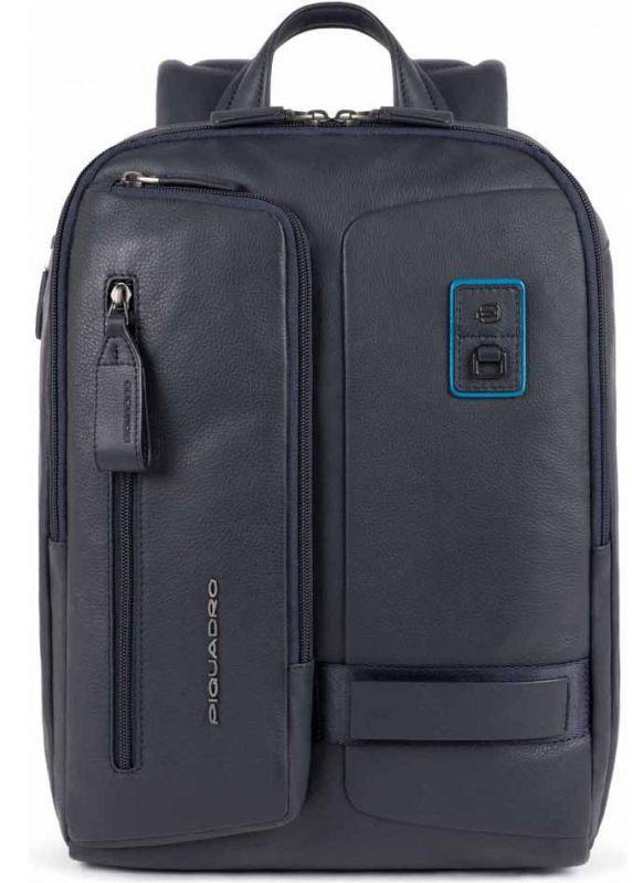 Рюкзак для ноутбука 14 дюймов Piquadro Dioniso, синий