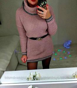 """Модное вязаное платье """"Шарлотта"""""""