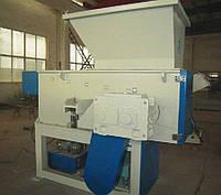 Одновальный шреддер DSHZ42/800 (для дробления пластмассы)
