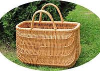 Корзина-сумка плетенная из лозы