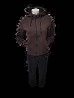 Женский зимний с начесом спортивный костюм Nike