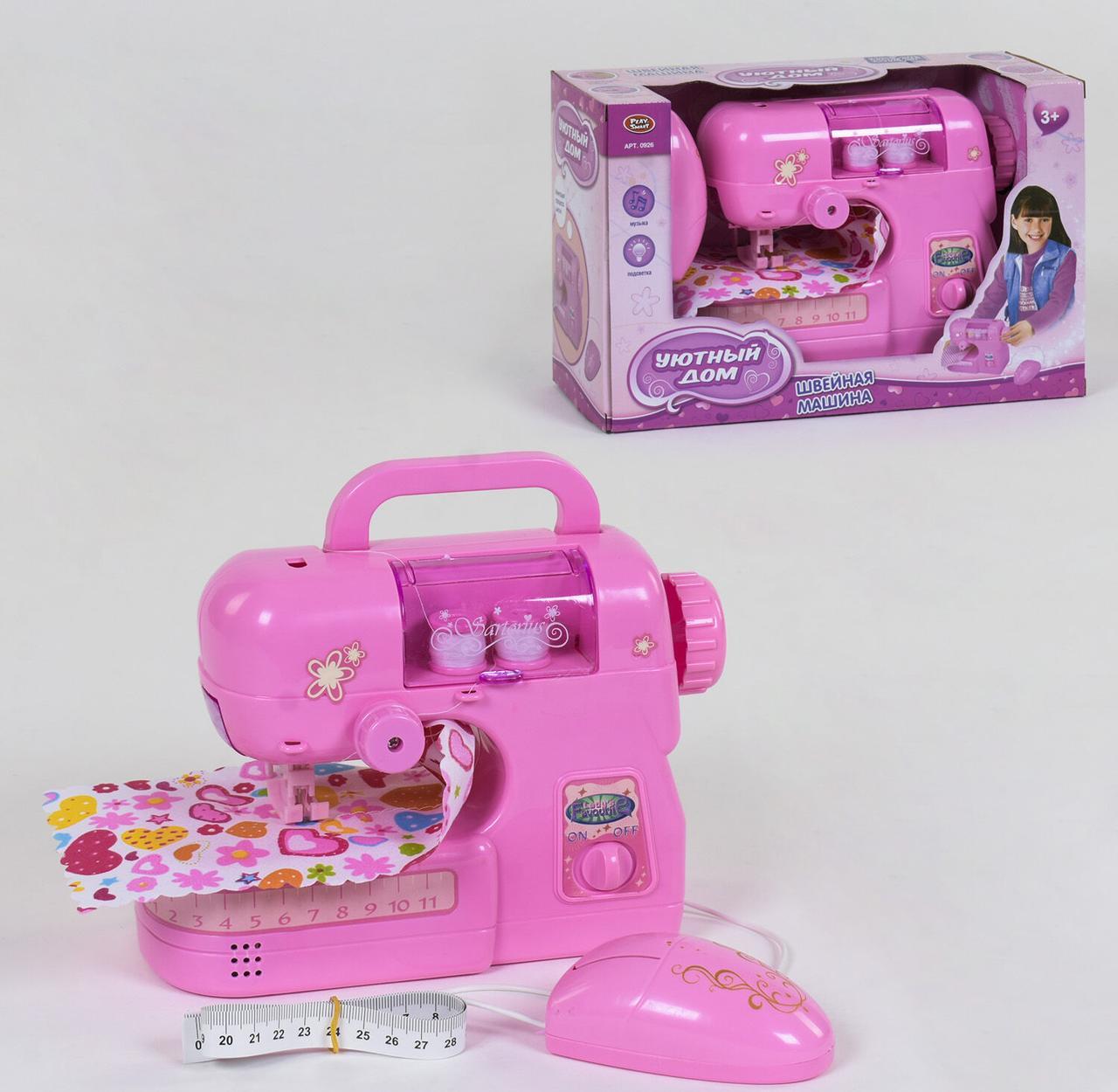 """Швейная машинка """"Уютный Дом"""" Play Smart, звук, свет, в коробке 0926"""