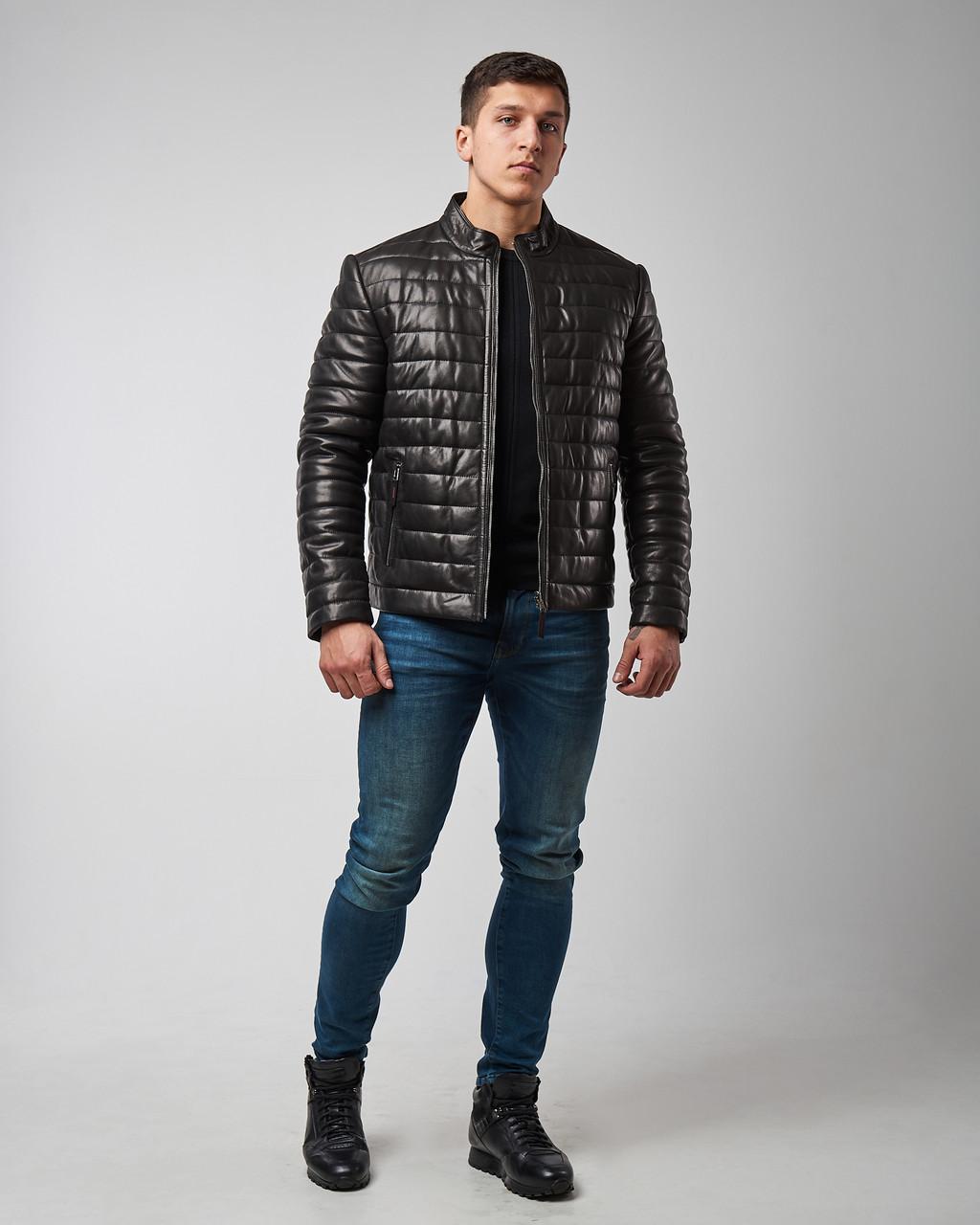 Куртка кожаная мужская двухсторонняя Maddox. Турция