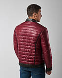 Куртка кожаная мужская двухсторонняя Maddox. Турция, фото 6