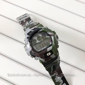 Годинники наручні хакі Casio G-Shock DW-6900 Militari Gray / касіо джишок хакі зелений з сірим