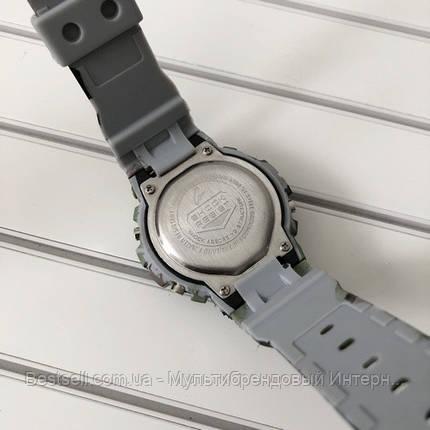 Годинники наручні хакі Casio G-Shock DW-6900 Militari Gray / касіо джишок хакі зелений з сірим, фото 2