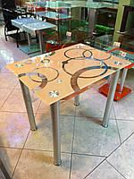 Стол стеклянный С116