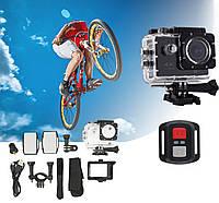 Водонепроницаемая спортивная экшн камера с пультом 4K DVR SPORT S3R Wi Fi (4185)