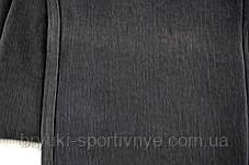 Брюки женские на меху в сером цвете 4XL  Лосины зимние Ласточка - полубатал Брак, фото 2