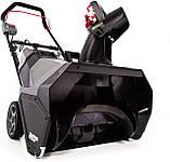 Снегоуборщик аккумуляторный POWERWORKS 60 V SN60L00К25 (2600513)  (51 см) бесщеточный с АКБ 2,5 Ач 60 В и ЗУ, фото 2