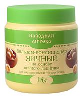 Бальзам-кондиционер Яичный для окрашенных и тонких волос 500 мл  Iris Ir-0078
