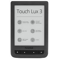 Электронная книга с подсветкой Pocketbook Touch Lux 3 (Gray)