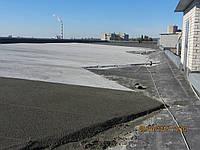Ремонт уклонов кровель полистирол бетоном