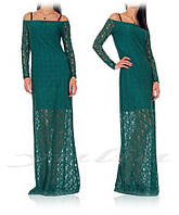 Платье гипюр макси, фото 1