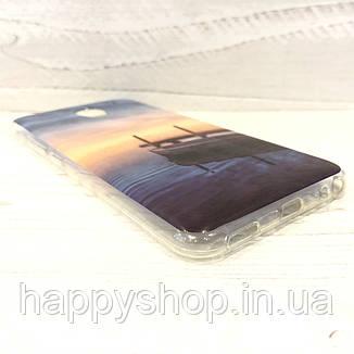 Силіконовий чохол з малюнком для Meizu M5 (Sunset), фото 2