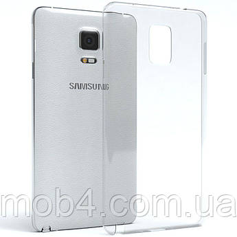 Прозорий силіконовий чохол для Samsung Galaxy (Самсунг Гелексі) Note 4