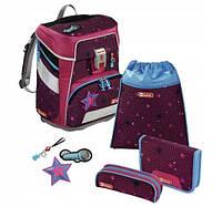 Шкільний рюкзак для хлопчиків HAMA Step By Step Суперзірка + 2 пенала + сумка для спортивного взуття