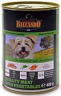 Belcando отборное мясо с овощами, 400 гр